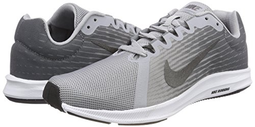metallic Gris Grey 8 cool Downshifter black De Dark wolf Nike Hombre Grey Running Zapatillas Para 004 Grey v0wAT
