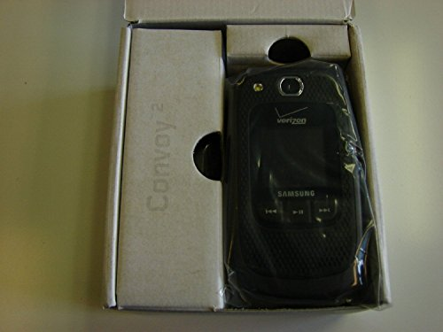 Samsung Convoy 2 U660 Verizon CDMA Flip Cell Phone - Black