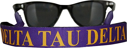 Delta Tau Delta - Sunglass Strap - Two - Tau Colours