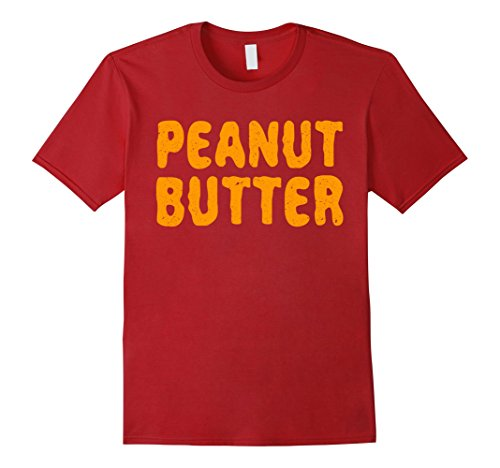 Mens Peanut Butter T-Shirt Matching Halloween Costume 2XL (Funny Couple Halloween Ideas 2017)