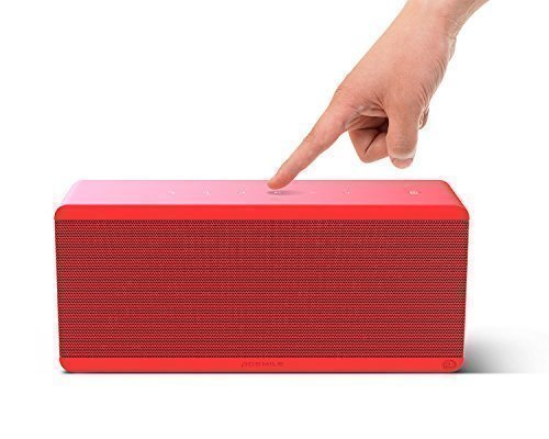 Wireless Notebook Portable (ACEMILE THEATRE BOX C01-CBT612-BS0100407US 360° 3D-Sound Portable Speakers, Ruby)