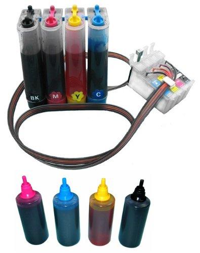 Prestige Cartridge NON OEM CISS sostituire Epson T0711, T0712, T0713, T0714 e 4 x 100ml inchiostri di ricarica non Epson Original CISSe715-004