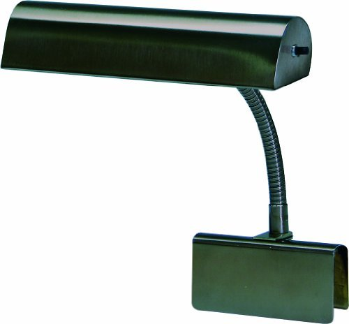 - House Of Troy GP10-81 Grand Piano 10-Inch Portable Lamp, Mahogany Bronze by House of Troy