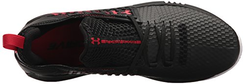 Under Armour Men's Ua Drive 4 Low Basketball Shoes Black/Black/Pierce E3T5Ol