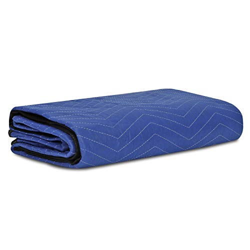 HomGarden 12 Moving & Packing Blankets - 80'' x 72'' Professional Quilted Shipping Furniture Pads Multi Purpose Blankets by HomGarden (Image #2)