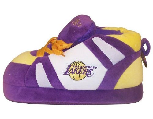 Womens and Comfy NBA Happy Los Officially Licensed Lakers Angeles Mens Feet Slippers and Sneaker Feet TqCHW5YHg