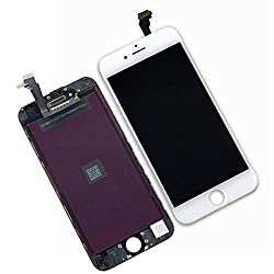 Ztr Oem White Lcd Display Touch Digitizer Screen Assembly Replacement For Iphone 6 4.7 Inch