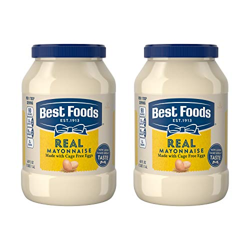 Best Foods Real, Mayonnaise, 48 oz, Twin Pack
