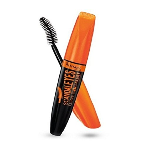 New (3 Pack) RIMMEL LONDON Scandaleyes Curve Alert Mascara - Black hot sale