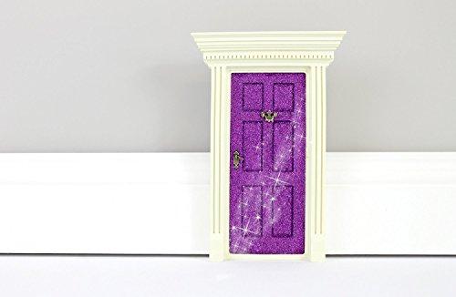 Lil' Fairy Door Door Novelty, Sparkle Purple