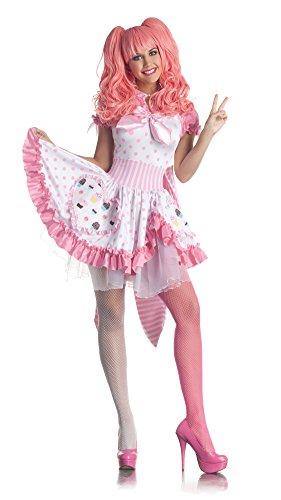 Harajuku Girl Sailor Moon Sexy Cosplay Fancy Dress Womens Halloween Costume S
