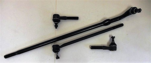 Suspension Kit Front 2 Drag Links 2 Inner Outer Tie Rod Ends Right and Left Side