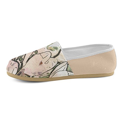 Floral Art Studio Casual Shoes Loafers For Women (004) 50%OFF