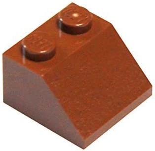 LEGO Parts and Pieces: Reddish Brown 2x2 45 Slope x20