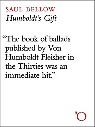 book cover of Humboldt\'s Gift