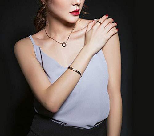 BESTJEW Womens Love Bracelet Stainless Steel Cuff Bangle Bracelet with Screwdriver 6.7Inch Gold by BESTJEW (Image #5)