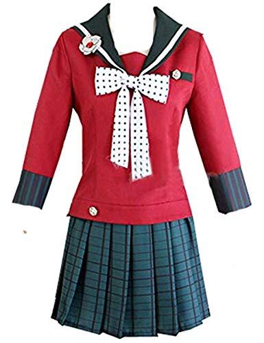 Cosnew Anime Halloween Harukawa Maki Dress Uniform Cosplay Costume-Made