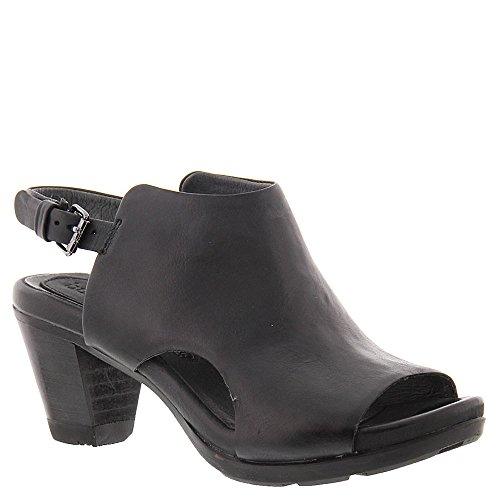 BUSSOLA Laura Womens Sandal Black Leather YqtjtAcw