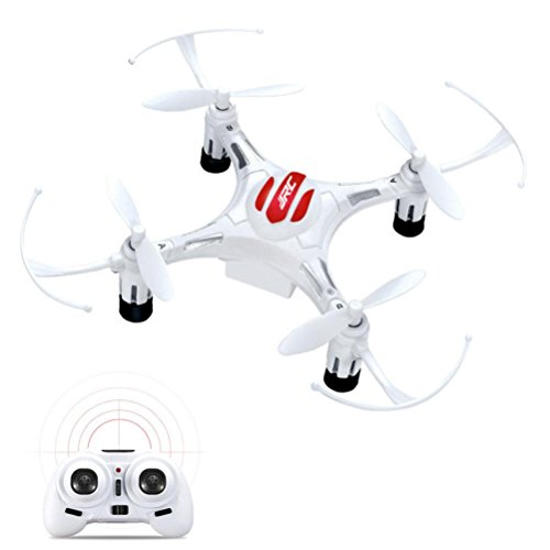 RC Quadcopter,JJRC H8 Mini 2.4G 4CH 6 Axis RTF RC Quadcopter Led Night Lights CF Mode By Dacawin (White) by Dacawin