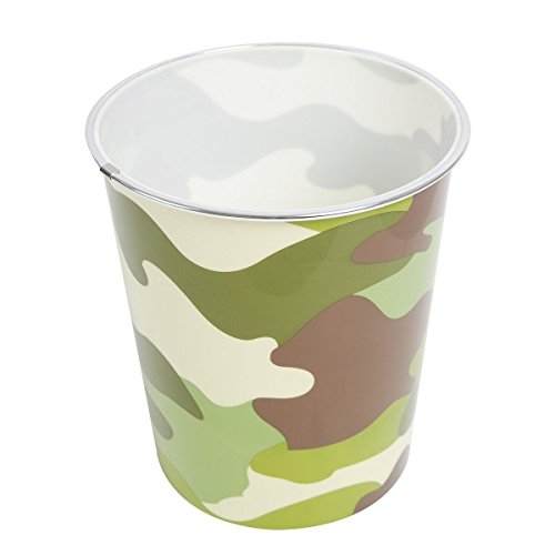 Kids Army Shop Woodland Waste Bin