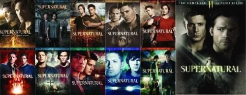 Supernatural Season 1-11 Bundle by