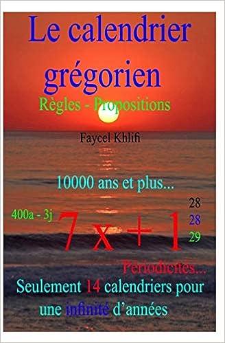 Calendrier Pour Les Regles.Le Calendrier Gregorien Regles Propositions Seulement
