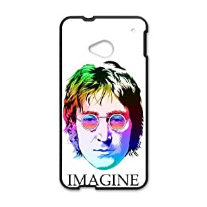 John Lennon HTC One M7 Cell Phone Case Black SH6067812