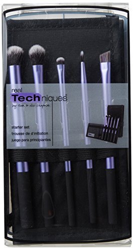Real Techniques 1406 Enhanced Eye Starter Set Of Makeup Brus