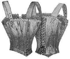 1893 Corset for Traveling, Riding, Bicycling Pattern ()