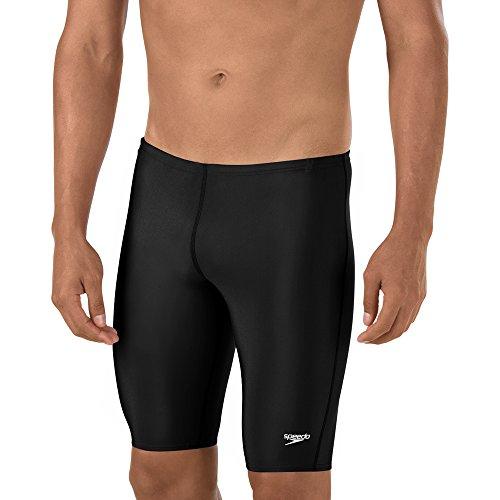 Speedo Men and Boys' Pro LT Jammer Swimsuit, Black, 26 (Boys Speedo Jammer)