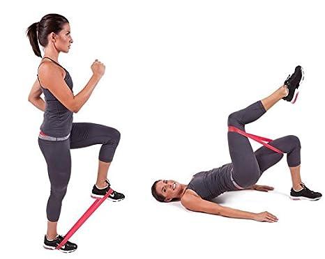 About1988 Womens Set by Ideal f/ür Muskelaufbau Physiotherapie Pilates Yoga Gymnastik,Premium Fitnessb/änder Band f/ür Crossfit Calisthenics Oder Workout