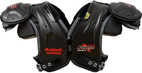Riddell Power SPK+ Adult Football Shoulder Pads - RB / DB (Db Football Shoulder Pads)