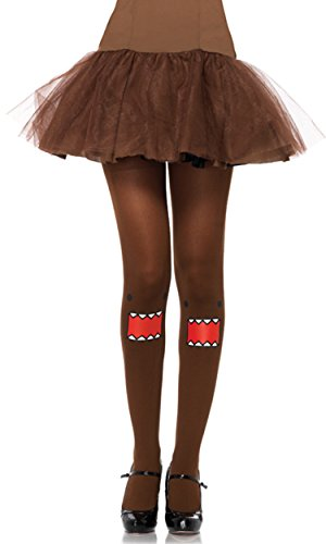 Leg Avenue Women's Domo Tights, Brown, One Size]()