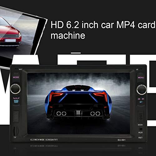 voiture fonction avec et mains la 2 HD lecture l'appel d'appui Lecteur de libres LED le 6 pouces de d'écran de MP4 de de de voiture support carte de d'abord de et Bluetooth qBxxvEPz