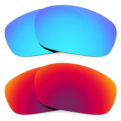 Revant Replacement Lenses for Oakley Racing Jacket 2 Pair Combo Pack K005