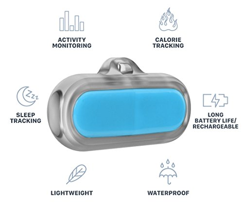 Poof Bean Pet Activity Tracker, Blue by Poof (Image #1)