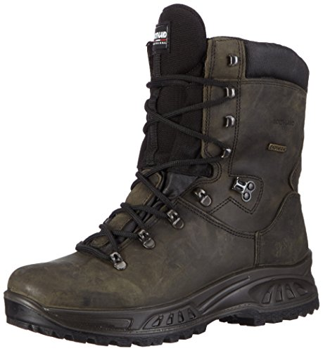 Winter Anfibi Leather grigio Uomo Yukon Professional Northland Scuro Boots Grigio 1FBtnw