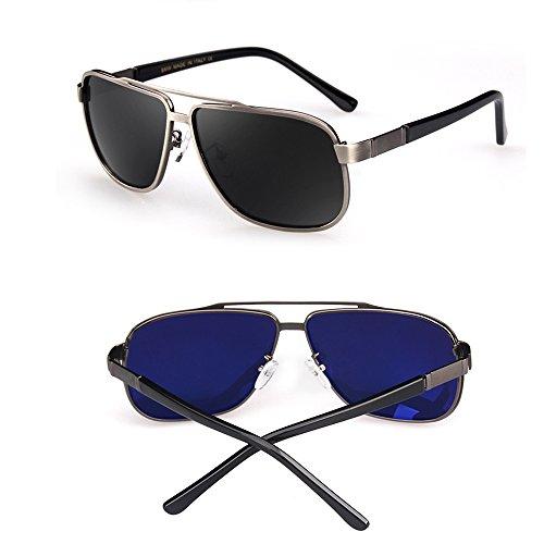 miroir de pour de des polarisées B de des classiques Couleur B ZHIRONG hommes soleil Lunettes Wayfarer lunettes RPwWpg