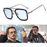 l'atteggiamento migliore dae2e 7f905 SHEEN KELLY METALLO Retro Occhiali da sole Tony Stark uomo ...