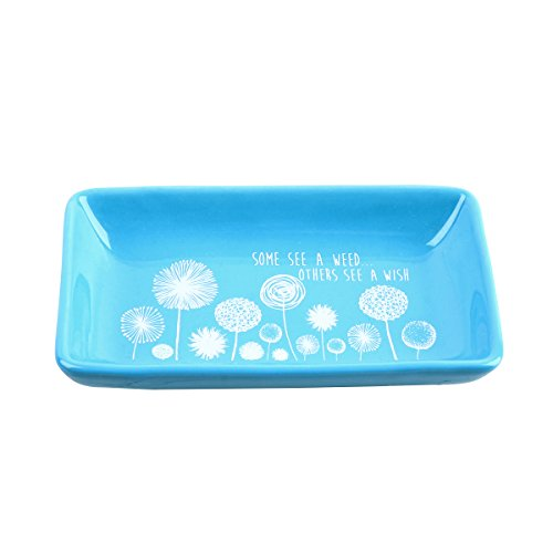 Karma Gifts Camp Trinket Tray, Dandelion Dragonfly Tray