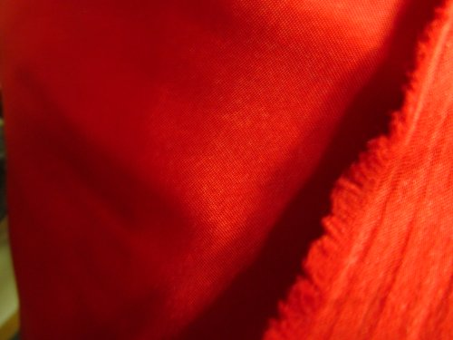 (EconoRolls®)100% Polyester Satin Charmeuse Red 60 Inch Fabric By 50 Yards Sold by the Bolt - Wholesale (F.E.) by The Fabric Exchange