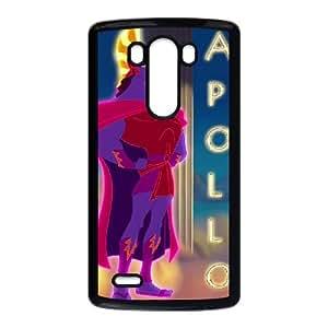 LG G3 Cell Phone Case Black Hercules Character Apollo Plastic Design Phone Case Cover XPDSUNTR24403