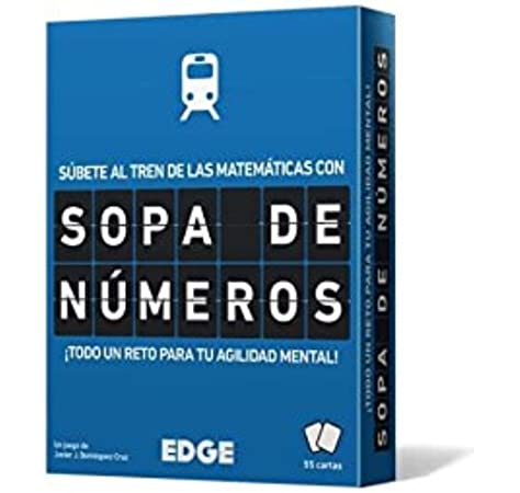 Edge Entertainment- Sopa de números - Español, Color (EEESSN01) , color/modelo surtido: Amazon.es: Juguetes y juegos