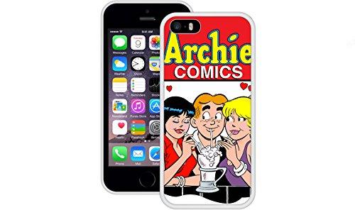 Archie | Handgefertigt | iPhone 5 5s SE | Weiß TPU Hülle
