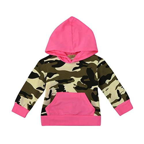 VESNIBA Mom&Me Toddler Infant Baby Boy Girl Women Camouflage Hoodie Sweatshirt Pullover Tops Family Outfit Clothes(12M, Camouflage-Baby) (Baby Costume Breaking Bad)