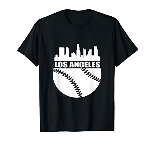Los Angeles Shirt LA Baseball Fan Stadium T-Shirt
