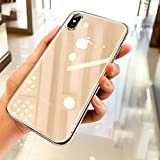 Ainope Crystal Clear iPhone Xs Max Case,[Invisible Airbag Protection] Ultra Thin Phone Cover with Anti-discoloration Slim Case Compatible Apple iPhone XsMax / X Max 6.5 inch 2018 (Transparent) Larger Image