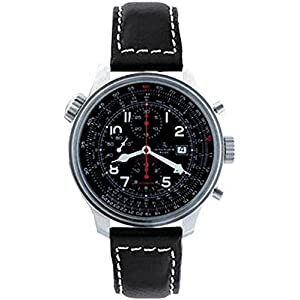 Zeno-Watch Mens Watch - OS Slide Rules Slide Rule Chronograph Date - 8557CALTVD-a1