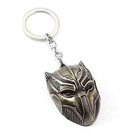 Amazon.com: Marvel Comics Black Panther Keychain For Men ...