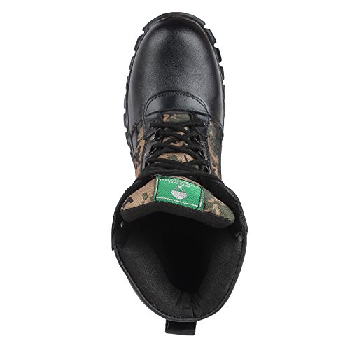 SSG Men's High Ankle Lightweight Waterproof Camouflage Military and Tactical Boot